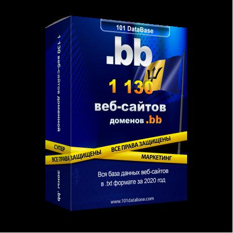 Все сайты Барбадоса - доменной зоны .bb