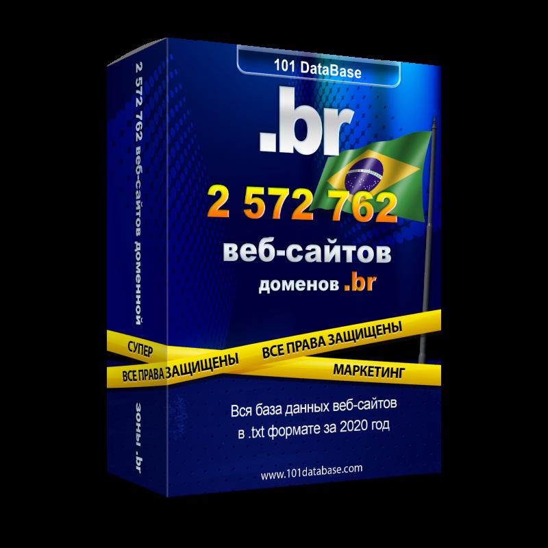 Все сайты Бразилии - доменной зоны .br